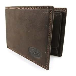 """Purse wallet """"Peau De Pèche"""" braun."""