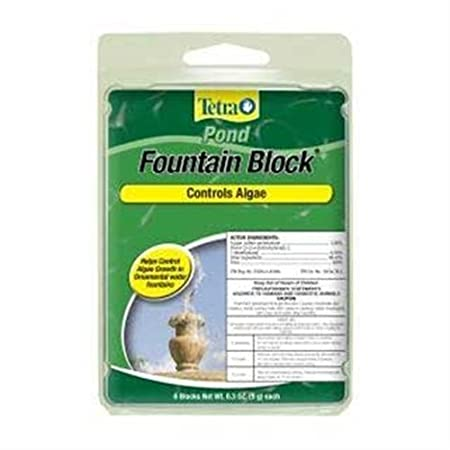 Tetra Anti-Algae Blocks for fountains, 6-Block