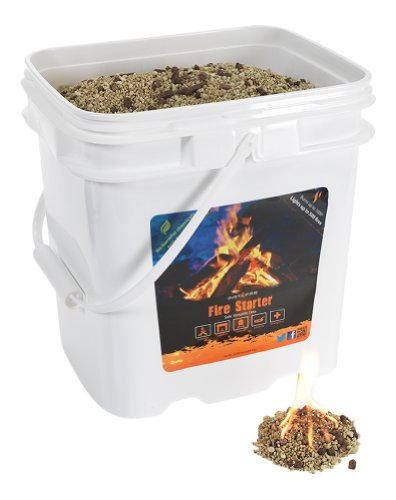 InstaFire Bulk Fire Starter, 4-Gallon Bucket photo