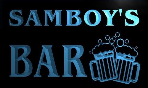 w102572-b-samboys-name-home-bar-pub-beer-mugs-cheers-neon-light-sign