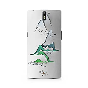 Mobicture Pattern Premium Designer Mobile Back Case Cover For OnePlus One