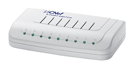 C Net 42106 Switch réseau 8 ports Gigabit SOHO Blanc