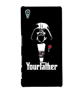 EPICCASE Your Father Mobile Back Case Cover For Sony Xperia Z5 Premium / Z5 Plus (Designer Case)