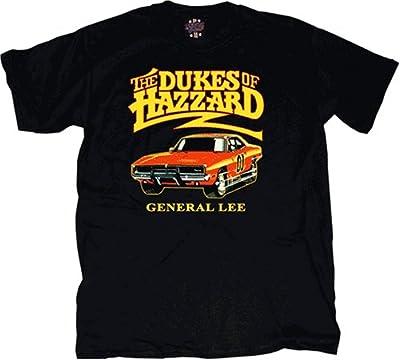 Dukes of Hazzard General Lee T-shirt Black