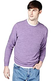 "2"" Longer Cashmilon™ Crew Neck Jumper"