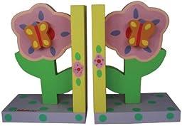 Tatutina Pastel Flower Bookends
