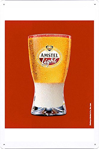 tin-sign-metal-poster-plate-8x12-of-amstel-light-foam-by-food-beverage-decor-sign