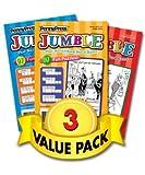 Jumble Puzzles-3 Pack