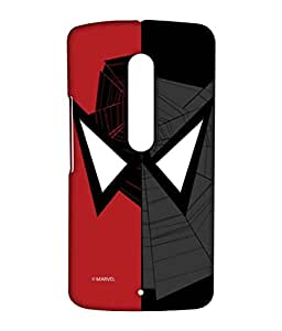 Block Print Company Face Focus Spiderman Phone Cover for Moto X play