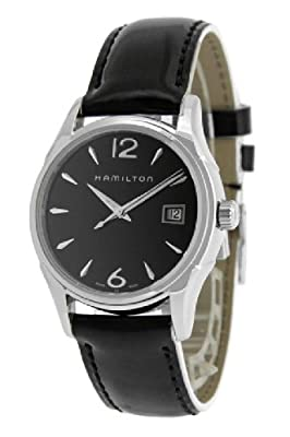 Hamilton Women's H32351735 Jazzmaster Black Dial Watch