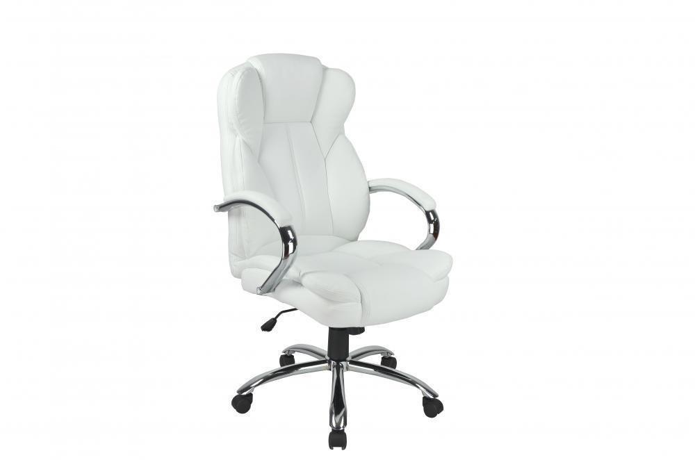 High Back PU Leather Executive Office Desk Task Computer Chair w/Metal Base O18