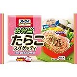 【15パック】 冷凍食品 弁当 お弁当たらこスパゲティ 4個 日本製粉