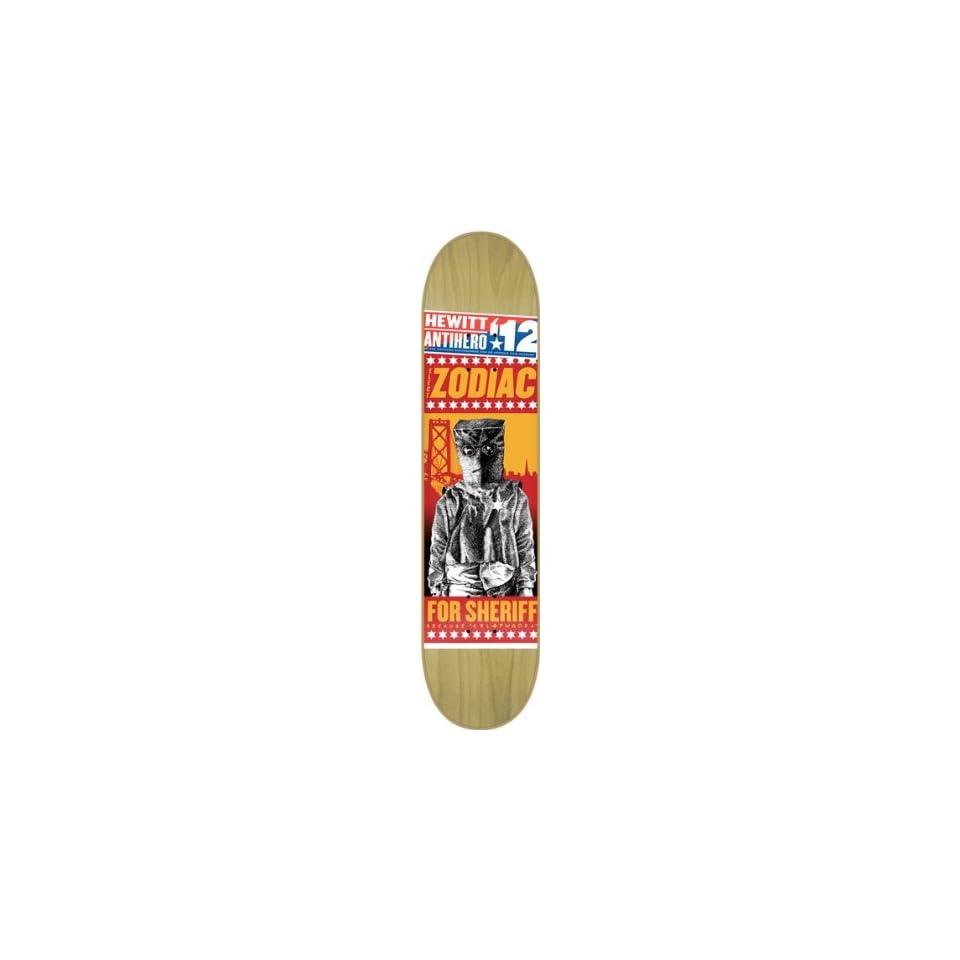 0cec9b10259 Anti Hero Hewitt Campaign Deck 8.18 Natural Skateboard Decks on ...