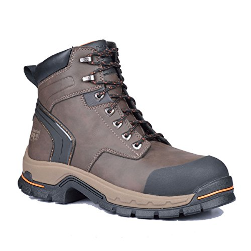 Timberland PRO 6 Inch Stockdale Boots (15 M, Dark Brown) (Big And Tall Work Boots compare prices)
