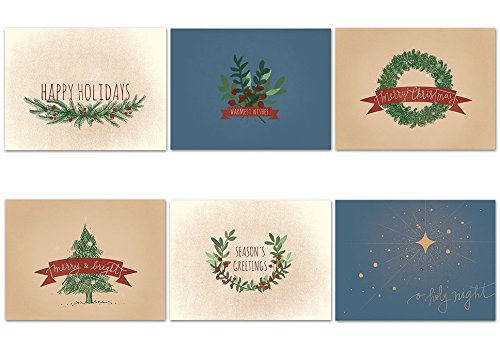 Patriotic christmas card 18 cards envelopes american flag warmest wishes holiday 36 holiday note cards 6 m4hsunfo