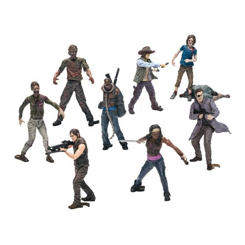 McFarlane Toys Building Sets- The Walking Dead TV Blind Bag Figures (Humans and Walkers Will Vary) (Miniature Human Figures compare prices)