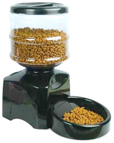 餌がつまらない特別設計 自動給餌機 犬・猫 ペットフィーダー