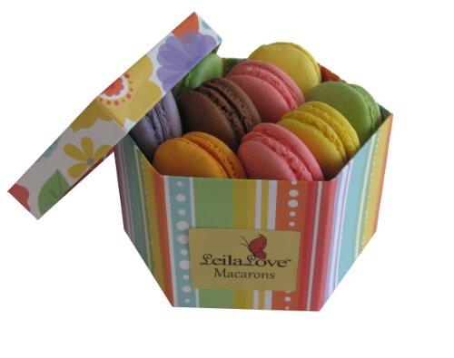 Leilalove Macarons, 6 Quantities 6 flavors premier