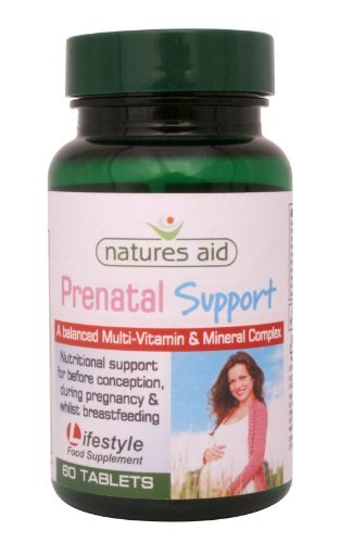 Natures Aid Prenatal Support , 60 Tablets