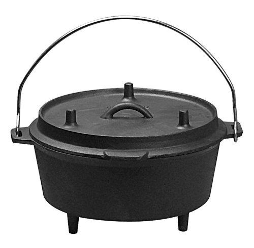 Imagen de Artículos para el hogar Universal Pre-Seasoned hierro fundido camping horno holandés
