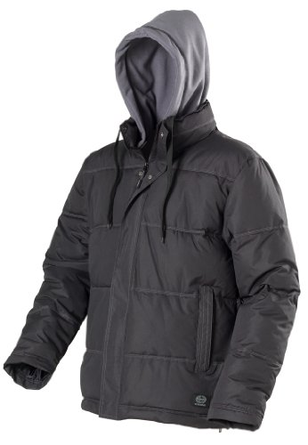 Haynes Work Wear Mens Fleece Lined Water And Wind Resistant Puffa Jacket(L)