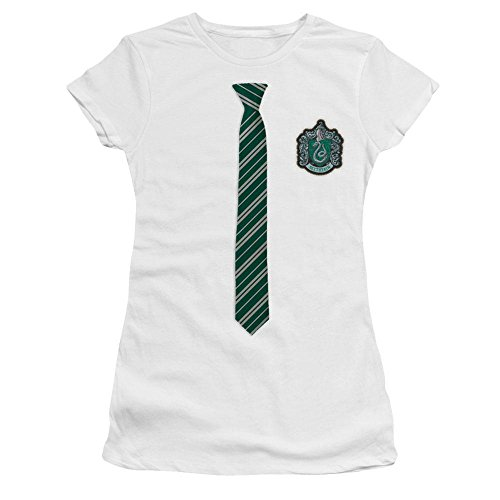 Slytherin House Tie and Crest T-Shirt - Harry Potter