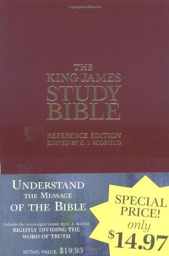 Kjv Study Bible: Red Letter Reference (Leatherette)