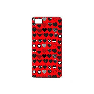 Vibhar printed case back cover for Micromax Unite 3 HeartEmotions