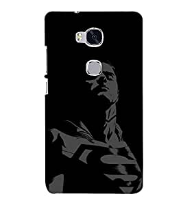 printtech Super Guy Back Case Cover for Hwawei Honor 5X