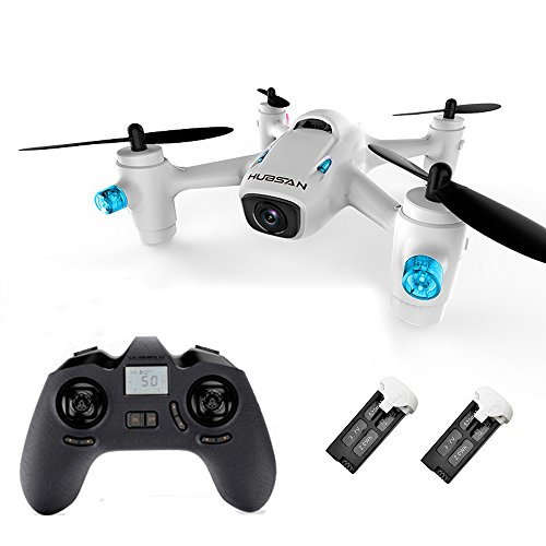 CHEERSON Hubsan X4 Cam H107C+ Plus RC Drone with HD Camera and 1 Extra Original Battery RTF White