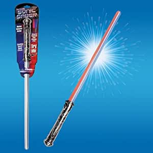Playmaker Toys Playmaker Toys Intergalactic Led Light Sonic Saber Sword with Sounds and Color Changing Effects Wow