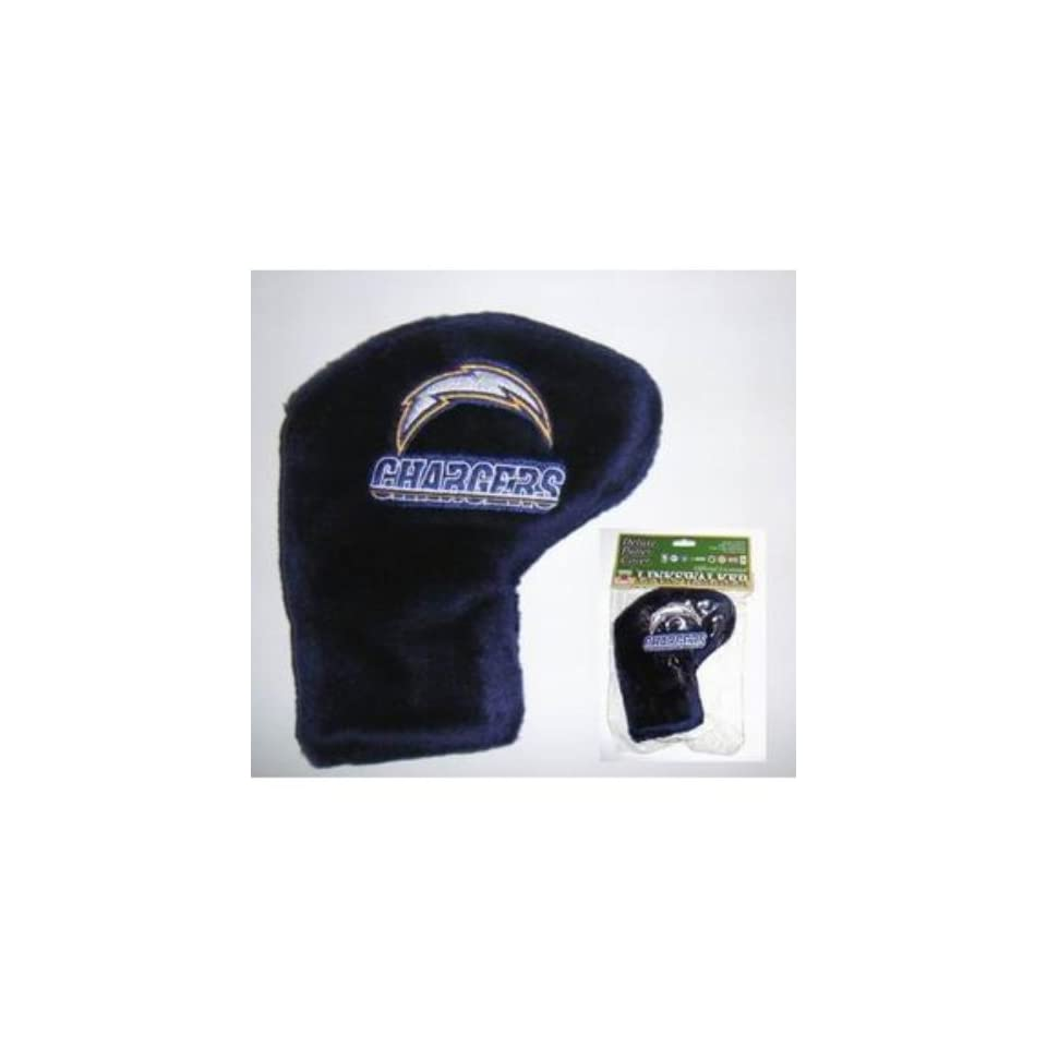 NFL San Diego Chargers Deluxe Golf Putter Cover Case Pack 12