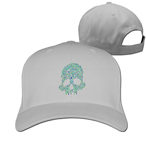 NEW TOP SONGKEE Halloween Skeleton Glow In The Dark Cool Adjustable Baseball Hat