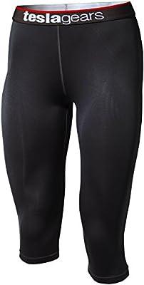 Tesla Women's Cool Dry Compression Baselayer Capri Pants Leggings Tights WP15
