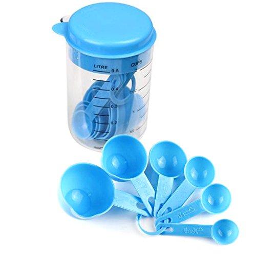 Hunulu Hot Baking Tools Teaspoon Measure Measuring Cup Spoons Set Kitchen Craft New