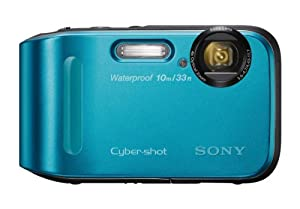 Sony DSC-TF1/L 16 MP Waterproof Digital Camera with 2.7-Inch LCD (Blue)