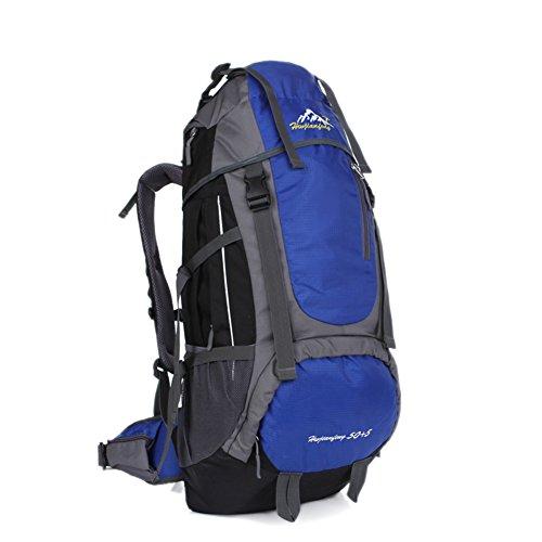Grande capacité alpinisme sacs / extérieur sac à bandoulière / sac de sport / Voyage à dos-bleu 60L