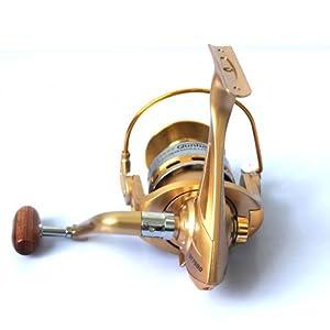 8BB Spinning Reel One-way Bearing No Gap GT Series Fishing Reel by T-Air