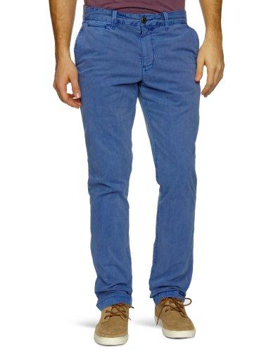 Original Penguin Margate Garment Dye Bottoms Slim Men's Trousers Mazarine Blue W36 INxL32 IN