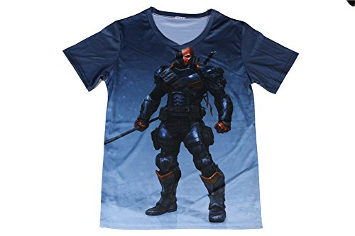 Ninja T-shirt Hip-hop Style Super Heroes Disguise Funny Shirts (XL, Tfe0106)
