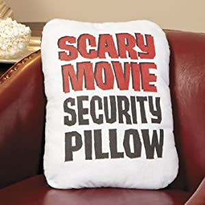 Throw Pillow Movie Scene : Amazon.com - Scary Movie Security Pillow - Party Decorations & Room Decor - Throw Blankets