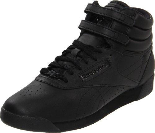 Reebok Women's Hi Fashion Sneaker,Black/Black/Black,8 M US (Reebok High Top Shoes compare prices)