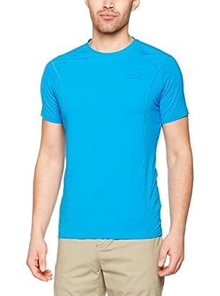 Jack Wolfskin Camiseta Manga Corta Hollow Range (Azul)