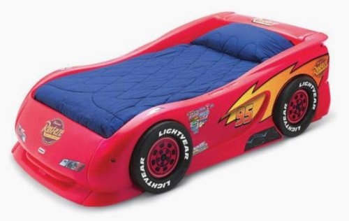 Race Car Twin Bed: Special Price Little Tikes Lightning McQueen Race Car Twin