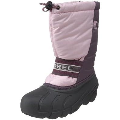 Sorel Cub Winter Boot (Little Kid/Big Kid),Isla/Crushed Berry,4 M US Big Kid