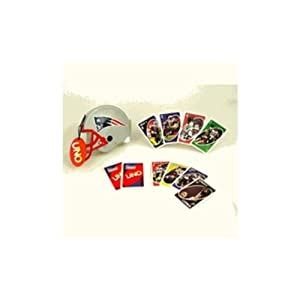 New England Patriots Uno Card Pack