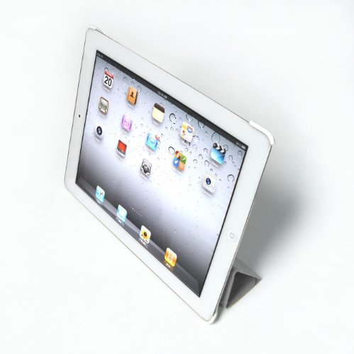 KONNET ExeCase for iPad 2 - Grey, Hard Case/Shell with Smart Cover