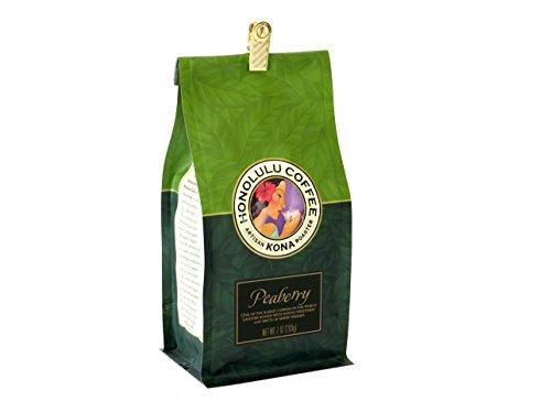 100%コナコーヒー ホノルルコーヒー 等級:ピーベリー 7オンス(200g) 並行輸入品 日本未発売★豆は挽いていません。