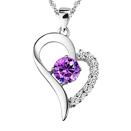 you-are-the-only-one-in-my-heart-purple-sterling-silver-pendant-necklace