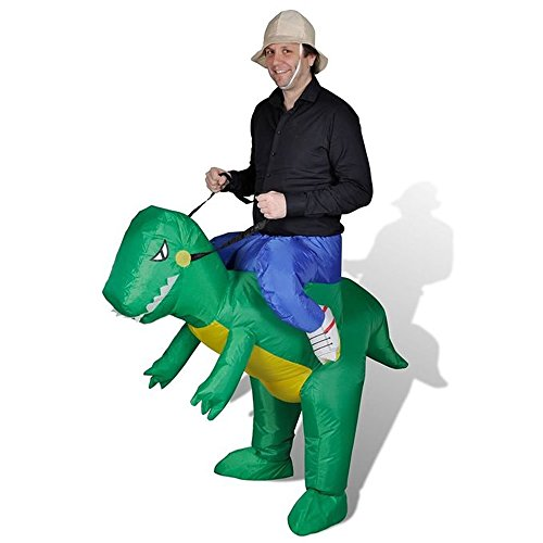 SGY Inflatable Dinosaur T-REX Adult Fancy Dress Costume